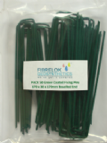 Artificial Grass GREEN Galvanised Fixing Pins 170mm x 30mm x 170mm PACK 50